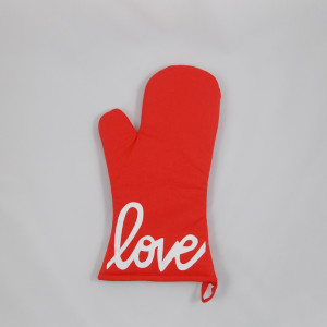single-red-mitt